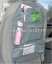 Dongzhen Серый Автомобилей Заднем Сиденье Организатор Авто Путешествия Multi-карманный Хранения Держатель Мешка M01