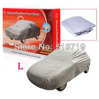 4.7m Universal Anti Rain Snow Dust Uv Waterproof Outdoor Full Car Auto Cover L