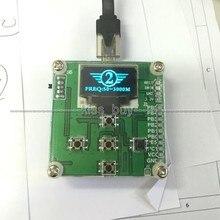 8 GHz 1-8000 Mhz OLED Medidor De Potencia de RF-55-5 dBm + Sofware Valor de Atenuación de RF