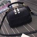 Marcas famosas Mulheres Bolsas Ladies Messenger Bags bolsa de Ombro Duplo Zíper Senhora Doce Cor Mulheres Saco Crossbody Bolsa Feminina