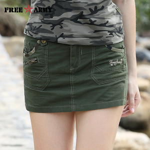 Skirt Shorts For Women Summer New Arrival Zipper Fashion Sexy Woman Jean Shorts Skirt Style Female Shorts Military Green Large