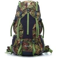 Jungle King 2017 новая камуфляжная водонепроницаемая сумка для альпинизма на открытом воздухе Большая вместительная сумка для путешествий на бол