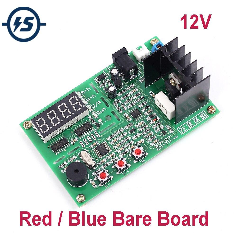 Probador de capacidad de batería externa 18650 probador de baterías de litio DC 12V ZB206 V1.3