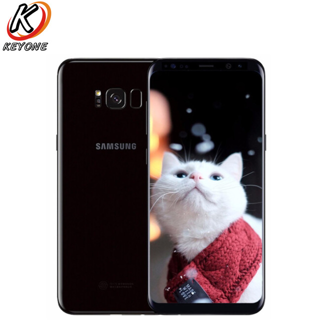 US $315 99 21% OFF|Original Samsung Galaxy S8 G950U AT&T LTE Mobile Phone  5 8