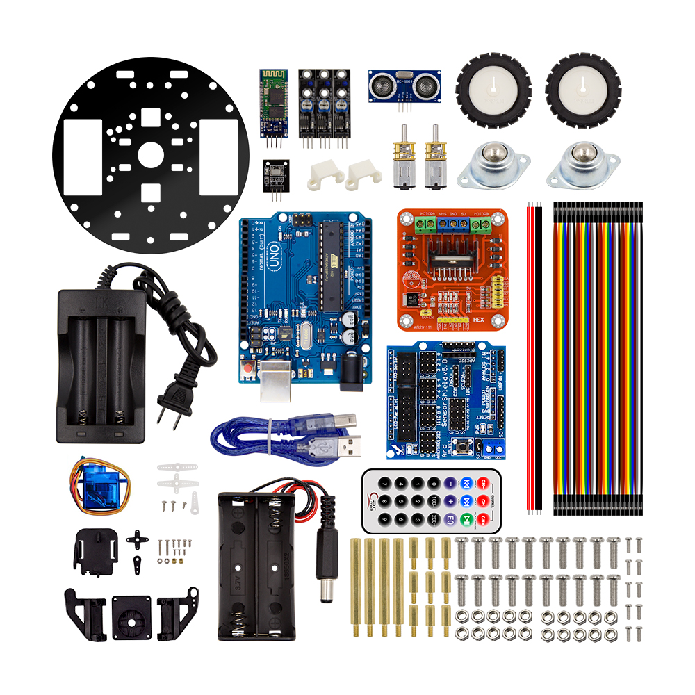 Intelligent Car Learning Suite Robot Intelligent Turtle Wireless Control Based For Arduino Robot Car Assembly Kit Free Shipping