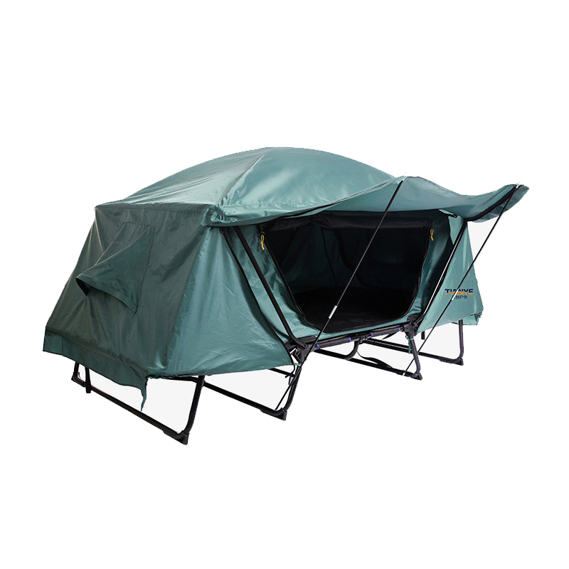 Camping Tourist tent 1-2 person fishing folding tent bed Outdoor recreation tents camping equipment high quality outdoor 2 person camping tent double layer aluminum rod ultralight tent with snow skirt oneroad windsnow 2 plus
