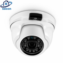Mini 5MP Dome Camera AHD 3.6mm Lens IR Night Vision 3840*2160P Vandalproof Home Security Camera With OSD Cable