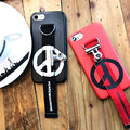 Новейшие КНС Rasta Символ Мира с Зажимом кожаный телефон Case обложка для apple iphone 6 6 s 7 плюс Bigbang GD аксессуары