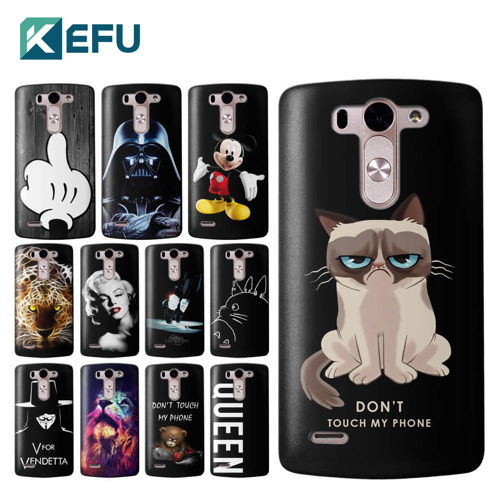 For funda LG G3 black classic hard PC back cover for coque LG G3 case 2016 new arrivals for capa LG G3 mini G3S G3 Beat Case