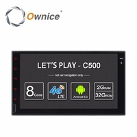 Ownice C500 Android 6.0 2G RAM 7'' 1024*600 Support 4G LTE SIM Network Car Radio GPS 2 din Universal with radio player NO DVD
