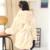 Meninas Do Falso Casaco De Pele do Inverno Jaqueta de Manga Longa Com Capuz Quente Imitação Pele De coelho Longo Brasão For Kids 8-13 Ano Macio Outwear CL1043