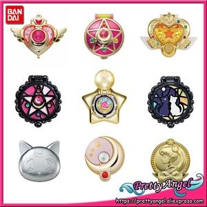 Image 1 - PrettyAngel אמיתי Bandai סיילור מון 20th יום השנה Gashapon כמוסה איפור יופי מראה