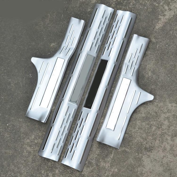 Styling de voiture pour nissan X trail T32 accessoires 2014 16 acier inoxydable x trail auto porte seuil protecteur plat d'u