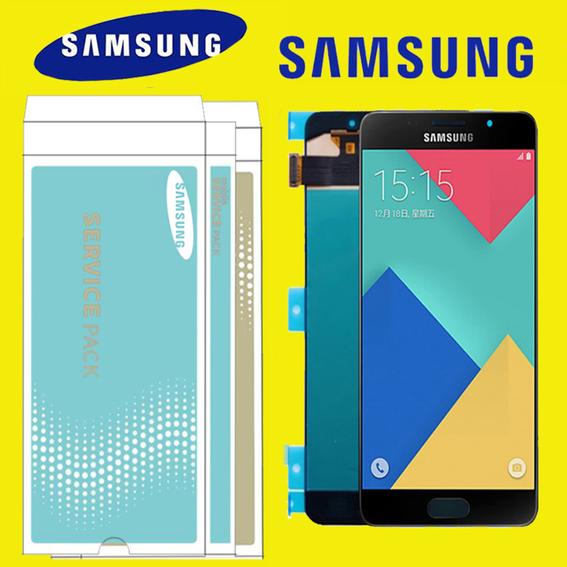 5 2 AMOLED LCD Replacement for SAMSUNG Galaxy A5 2016 LCD Display A510 A510F A510M SM