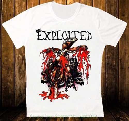 3b88b3065 The Exploited Jesus Is Dead Punk Rock Retro Vintage Hipster Unisex T Shirt  1406