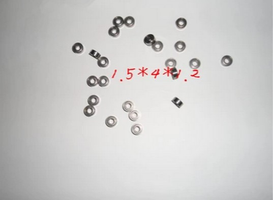 [100 pcs] 681x  1.5*4*1.2  1.5x4x1.2mm Metal Ball Bearing Bearings