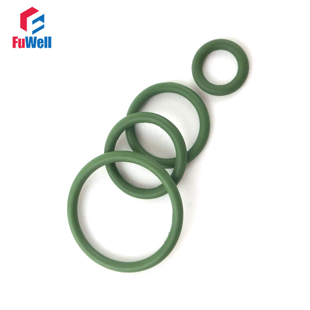 20pcs 2.4mm Thickness Green FKM O Rings Seal Gasket 28/29