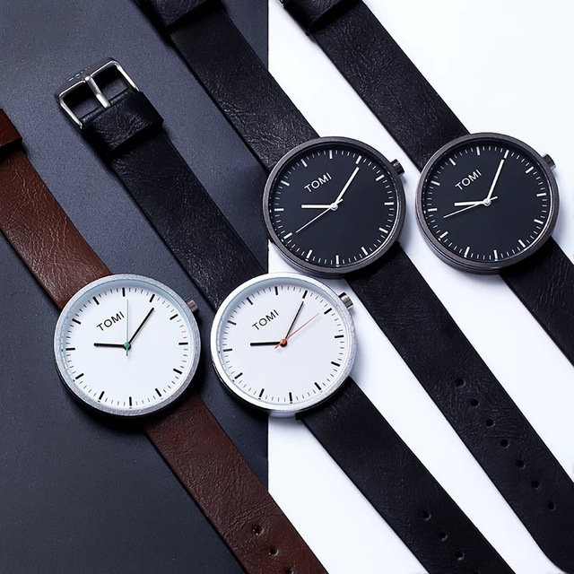 New ultra thin watch for male female 3