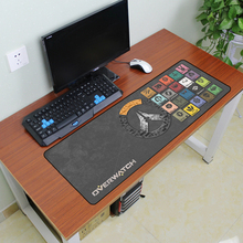 900X300X2MM Ovewatchs Large Size FPS Gaming Mouse pad Supersize Computer Desktop Overlock Keyboard Pad Mat Drop Shipping