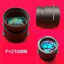 DIY 프로젝터 렌즈 초점 거리 f = 210mm 5.8 인치 프로젝터 용 프로젝션 렌즈 5pcs 대구경 렌즈로 만든 LCD