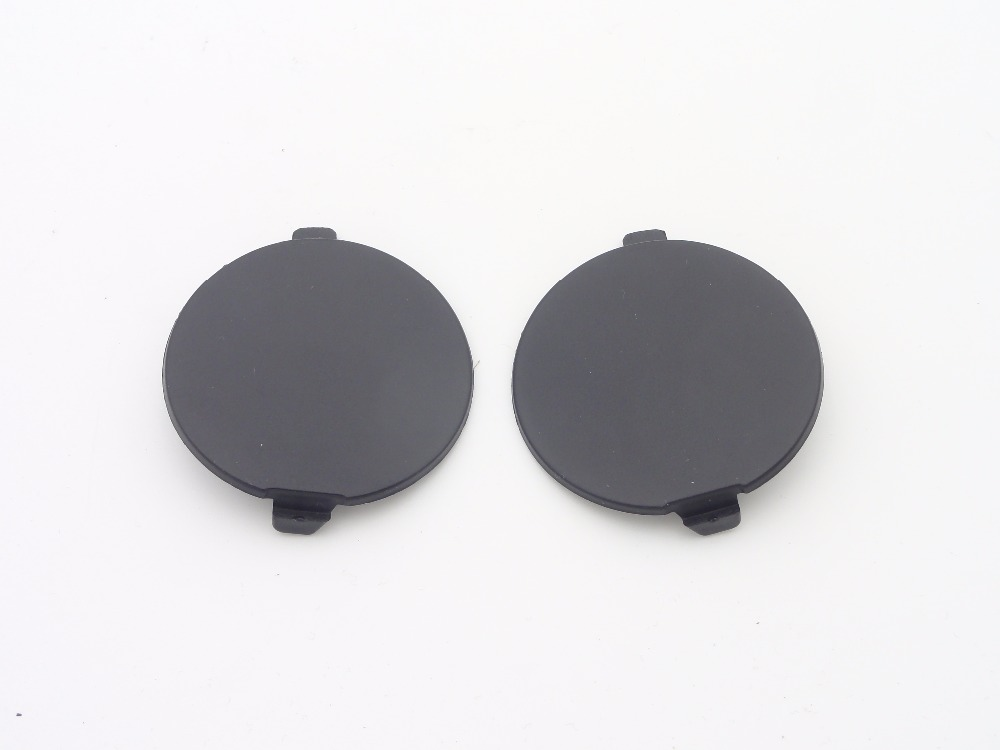 1Pair Car <font><b>Rear</b></font> <font><b>Bumper</b></font> Towing Tow Hook Eye <font><b>Cover</b></font> Cap Right + Left Side For <font><b>Mazda</b></font> 3 2014-2016 image