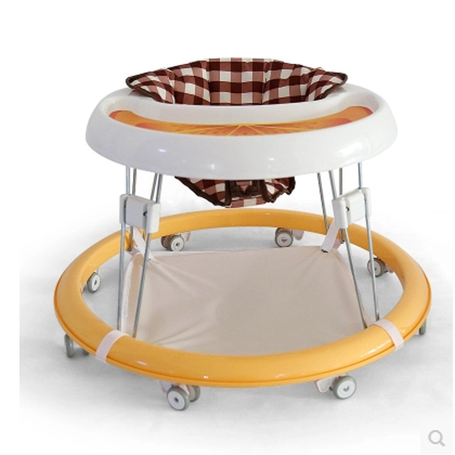 2016 nuevo estilo bebé multifuncional plegable andador niño caminador envío gratis