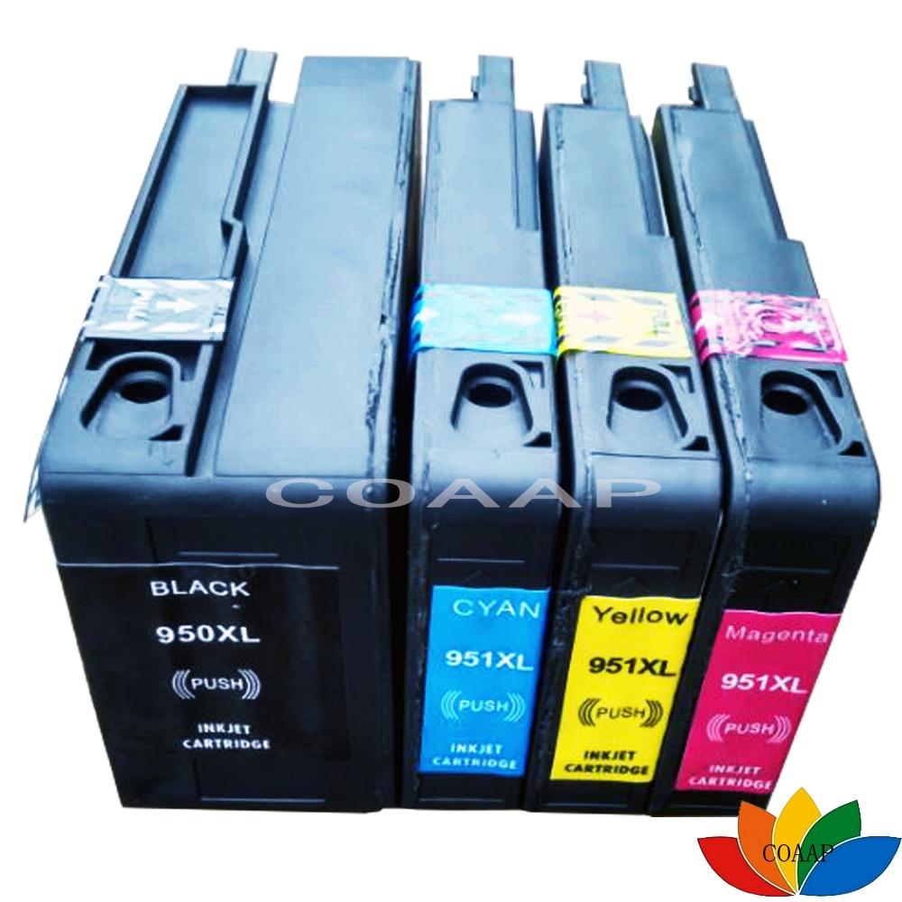 4 Pack kompatibilis 950XL 951XL tintapatron HP 950 951 OfficeJet Pro - Irodai elektronika
