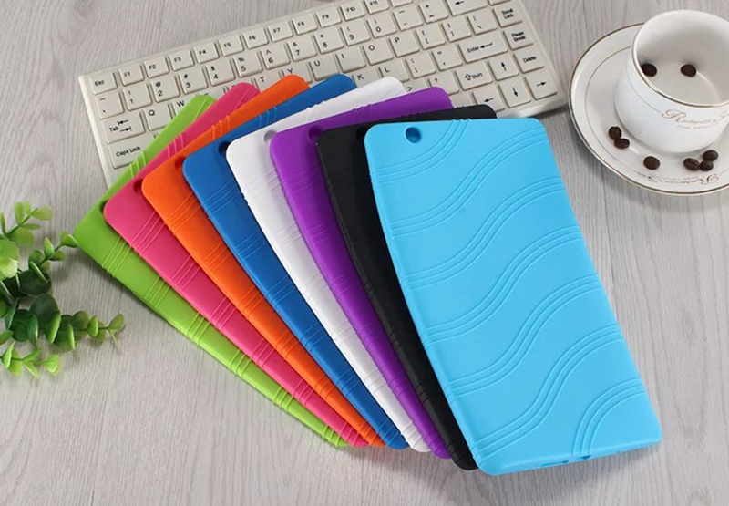 DOLMOBILE Silicone Back Cover Soft TPU Case for Huawei MediaPad M3 8.4 inch BTV-W09 BTV-DL09 Tablet + Stylus Pen image