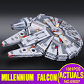LEPIN 05007 New Star Wars Millennium Falcon  Toys Educational building blocks marvel Kids Toy Compatible with 10467