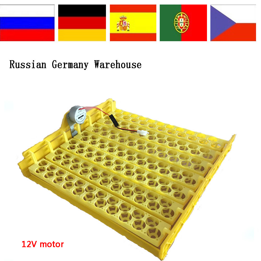 154 birdEggs Incubator Turn Tray Chickens Ducks And Other Poultry Incubator Automatically Turn Eggs with 12V motor for hot sale