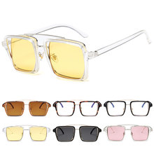 Retro Square Sunglasses Women Men Vintage Gradient Shades Sun Glasses Female Male Luxury Brand Design Eyewear