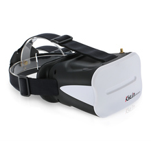 64CH 5.8G 3D FPV Goggles 5 Inch VR Headset 2000mAh Battery