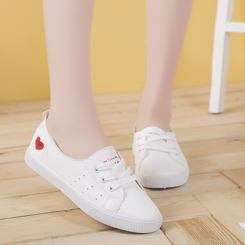 Small White Shoes Female Student Shoes 2019 Summer New Big Children Casual Sports Running Shoes