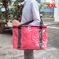 Super Large Lunch Bags; Encryption 600D Oxford Cloth+PE Foam+PEAV; Red Picnic Bag Blue Cooler bag; Bolsa Termica Grande