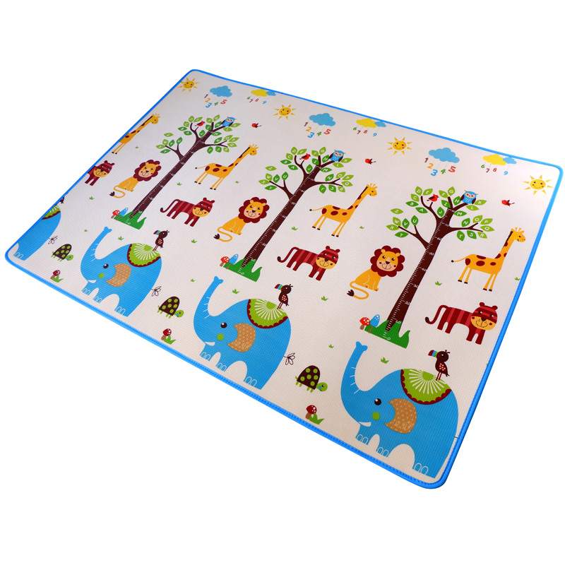 Infant Shining Baby XPE Play Mat 2cm Game Pad Living Room Crawling Carpet Puzzle Mat XPE Crawling Blanket Thickened Infantil Mat baby crawling mat activity game play mat thicken xpe folding non slip moisture proof home baby gym crawling mat playmat magic