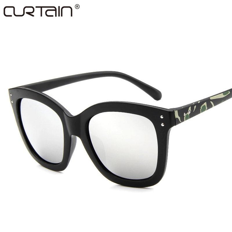 Moda bayanlar retro marka tasarım retro kadın güneş gözlüğü - Elbise aksesuarları - Fotoğraf 3