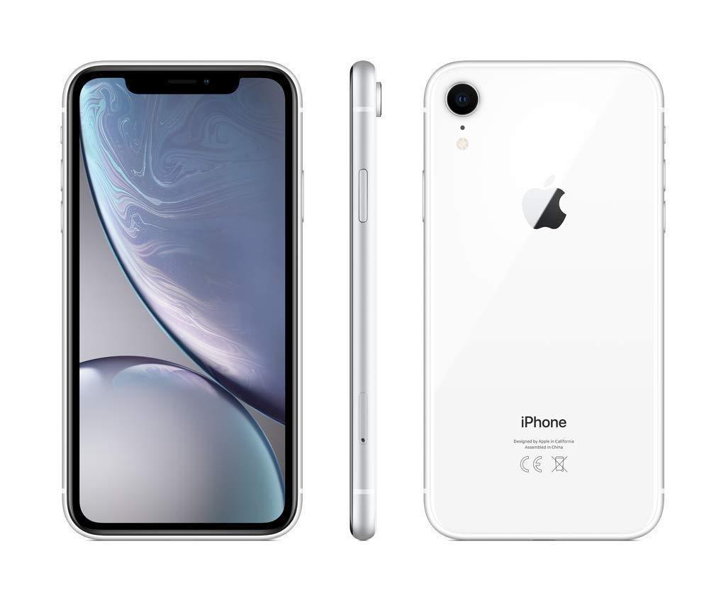 Apple iPhone XR, couleur blanc, bande 4G/LTE/Wi-Fi, interne 128 GB de Memoria, 3 go de RAM dur, écran 6.1