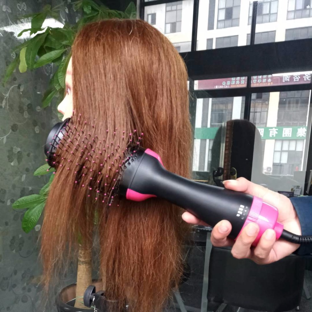 Multifunctional Hair Dryer Brush Automatic Rotating Hair comb Ionic Hair straightener Dryer Brush styling tools Comb hair curler фен elchim 3900 healthy ionic red 03073 07