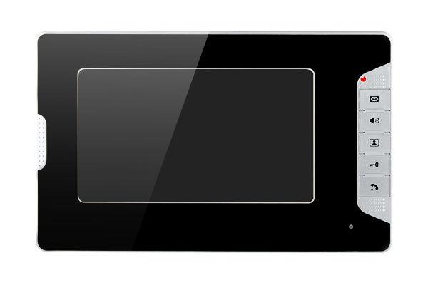 Yobang Security 10 Units Apartment Intercom System Video Intercom Video Door Phone Kit 7 Inch Monitor with RFID keyfobs