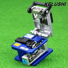 KELUSHI High Precision Aluminum Fiber Cleaver Optic Connector FC-6S Optical Fiber Cleaver,Used in FTTX FTTH, Free Shipping