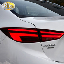 For Mazda 3 Tail Lights 2014~2018 Mazda3 Axela Tail Light Orignal Design LED Rear Lamp DRL+Brake+Park+Signal Car Styling цены