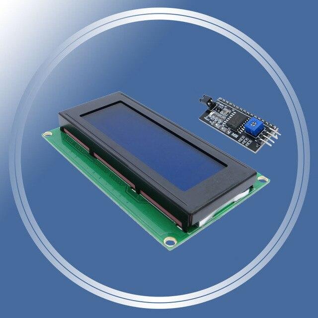 2004 20x4 2004A синий экран HD44780 для arduino характер ЖК-дисплей/w IIC/I2C последовательный Интерфейс модулем адаптера