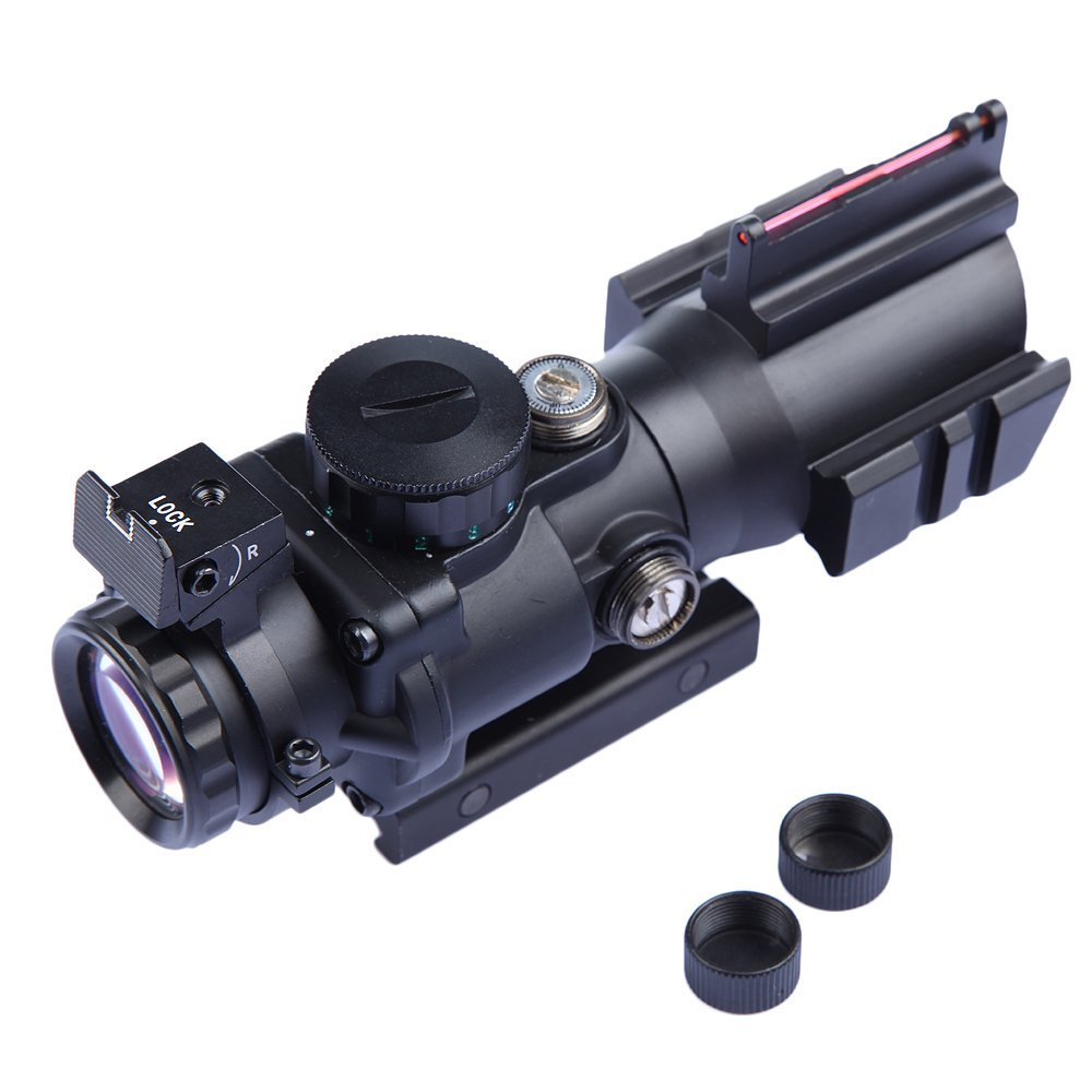 Tactical 4x32 Sniper Scope Red Dot Airsoft Sight Hunting Scopes Riflescope Rifle Scope for Hunting Shooting fire wolf tactical 4x32ler red dot sniper scope airsoft sight riflescope night vision rifle scope for hunting shooting