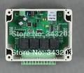 Rede 4 relé 10A WEB UDP módulo de relé interruptor de controle de software do smartphone