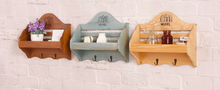 Solid Wood Home Wall Rack Wall Decoration Cloth and Hat Hanger Storage Hanger