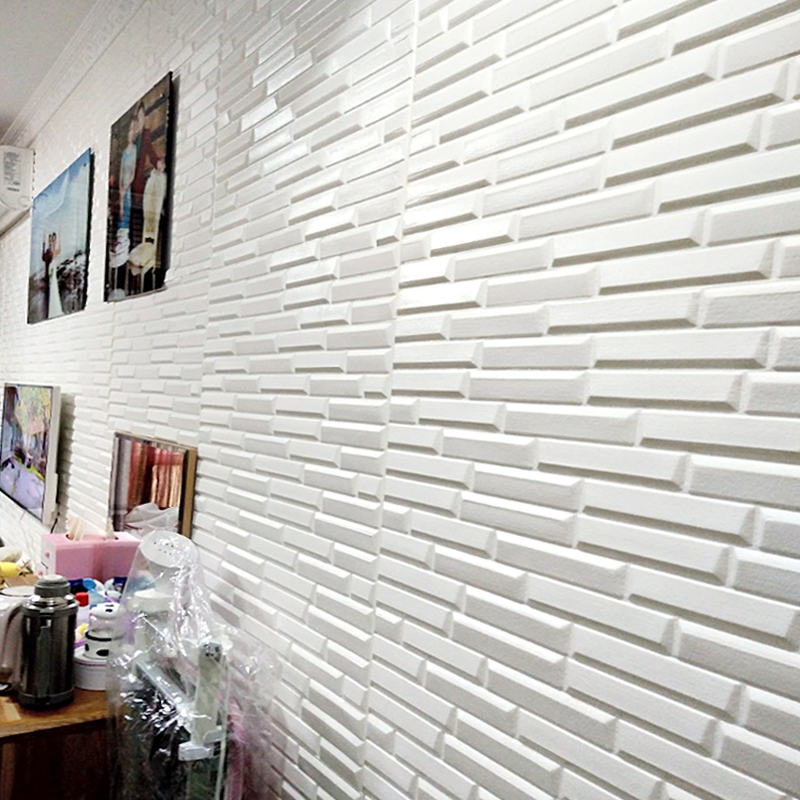 70*77cm Wallpaper 3d Stereo Wall Stickers Waterproof TV Background Wall Brick Pattern Living Room Foam Wallpaper Bedroom
