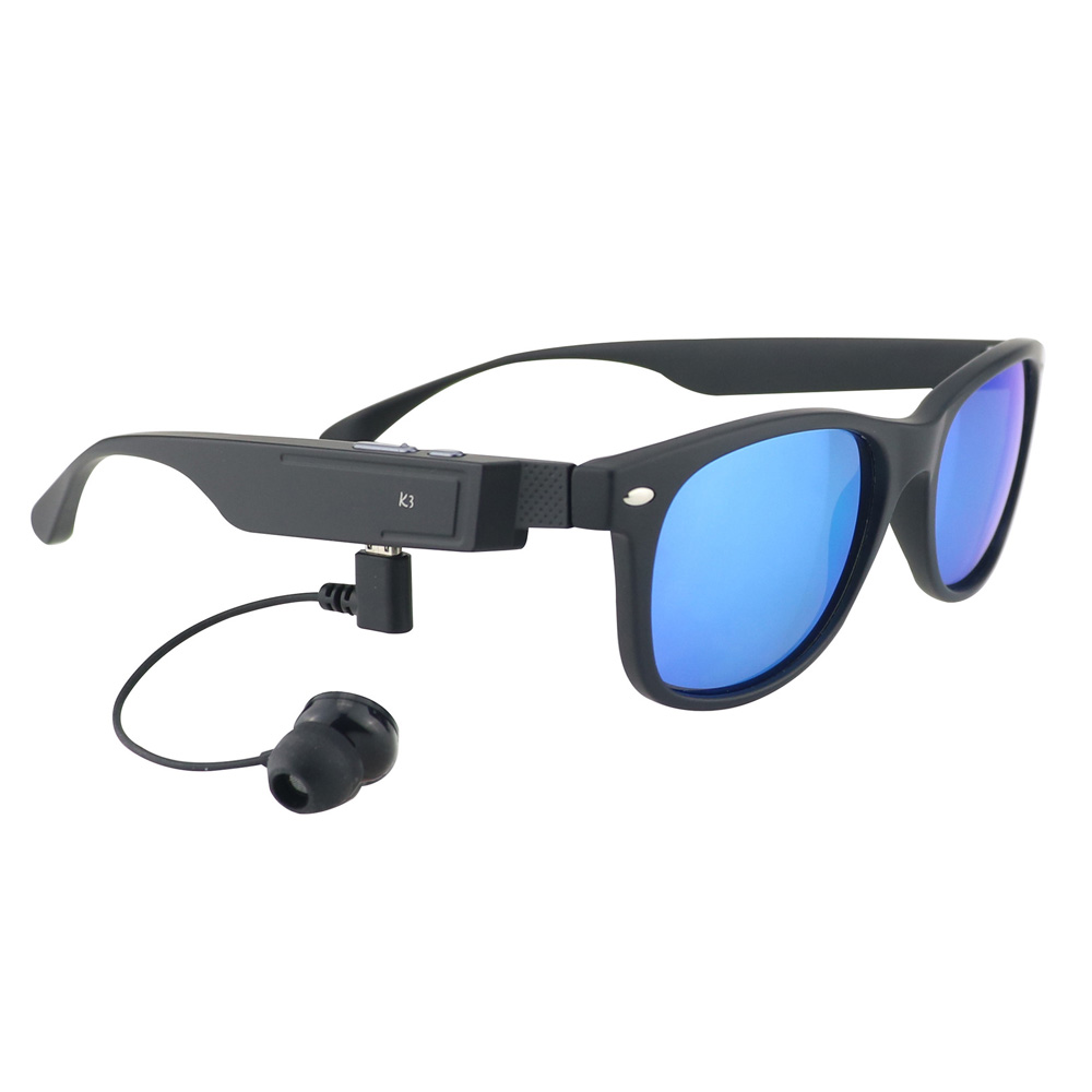 2018 Smart <font><b>Glasses</b></font> Polarized Sunglasses <font><b>Bluetooth</b></font> <font><b>Headset</b></font> Stereo Headphone Outdoor Sport With Microphone For iPhone Samsung OPPO