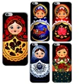 Soft Case for Iphone 5c 5 5s Se 6 6s Plus 7 Apple 4.7 5.5 Cartoon Girl Toy National Ethnic TPU Rubber Cover New Lovely Thin