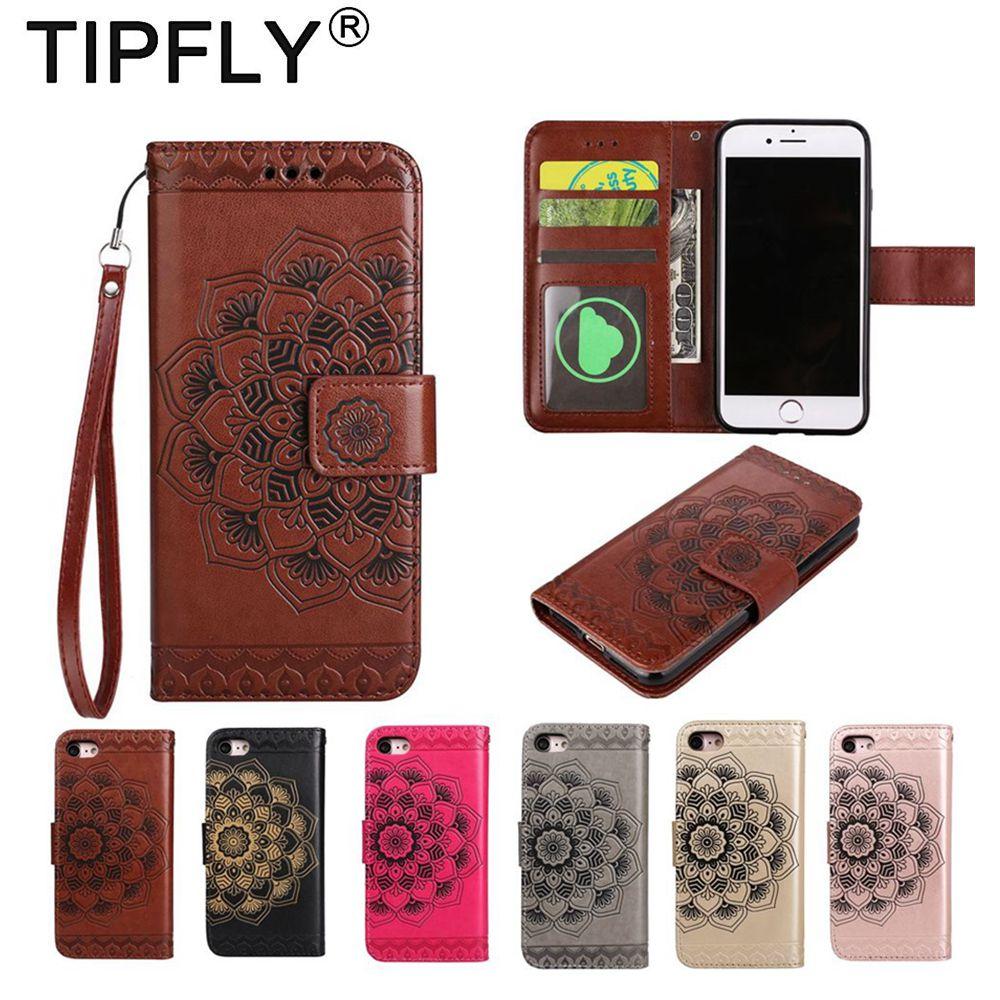 Tipfly чехол для iPhone 6/6 S чехол кожаный бумажник PU Магнитная Съемная флип чехол для Apple 6 6 S плюс Чехол тонкий отделения для карточек Coque