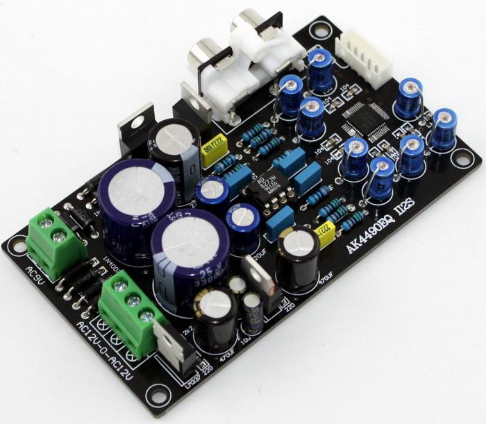Frss-Shipping-AK4490EQ-AK4490-II2S-DAC-decoder-board-AC15V-0-AC15V-15W--AC9V-10W